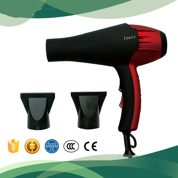 220v EU plug professional ionic blow hair dryer 2200w hot air brush hairdryer hairstyling salon barbershop hairdressing tool фен elchim 3900 healthy ionic red 03073 07