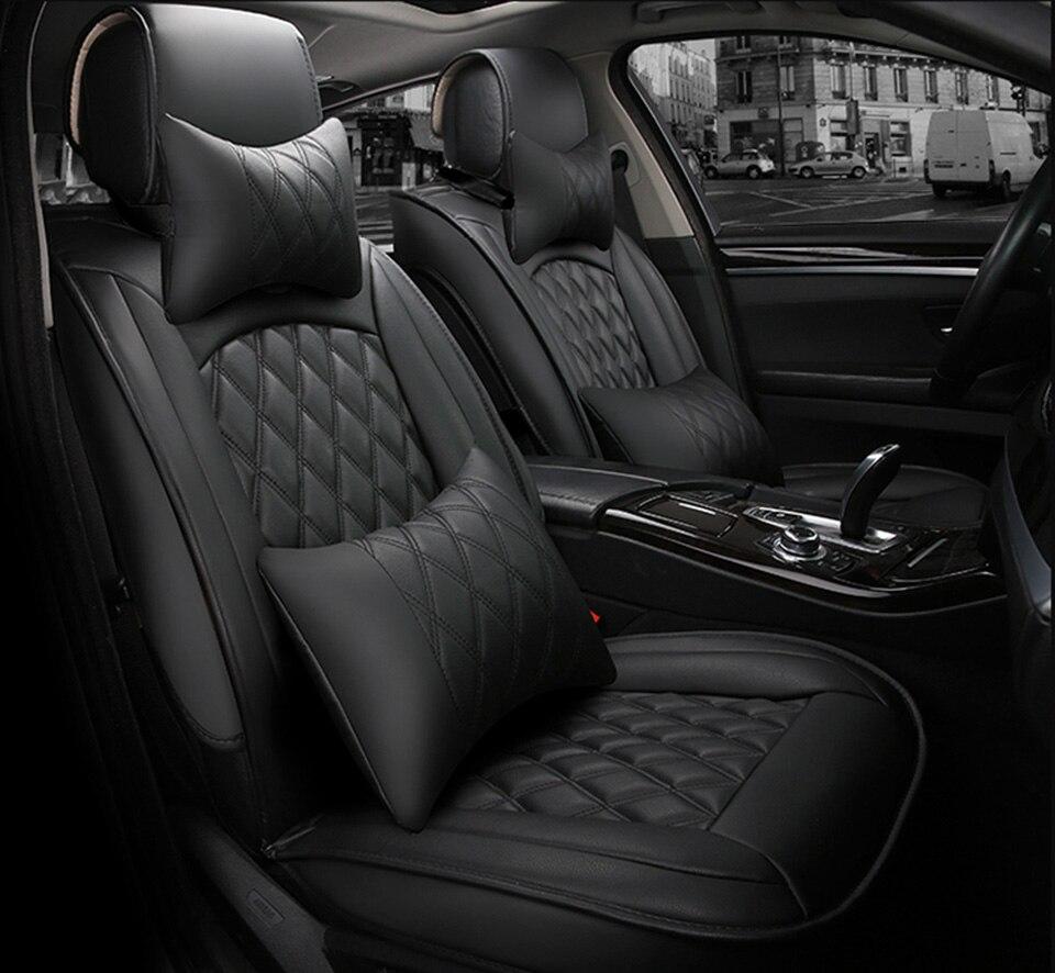 Universal car seat cover for toyota corolla camry avensis rav4 chr land cruiser prado premio All