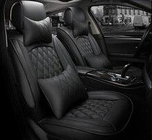 Capa de assento universal para carro, capa para toyota corolla camry avensis rav4 chr land cruiser prado premio todos os modelos de proteção de assento de carro