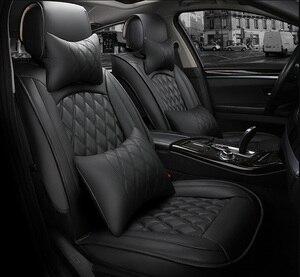 Image 1 - Универсальный чехол для автомобильных сидений для toyota corolla camry avensis rav4 chr land cruiser prado премио, защита для всех моделей автомобильных сидений