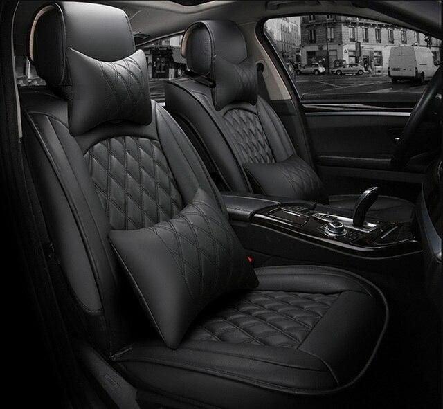 Универсальный чехол для автомобильных сидений для toyota corolla camry avensis rav4 chr land cruiser prado премио, защита для всех моделей автомобильных сидений