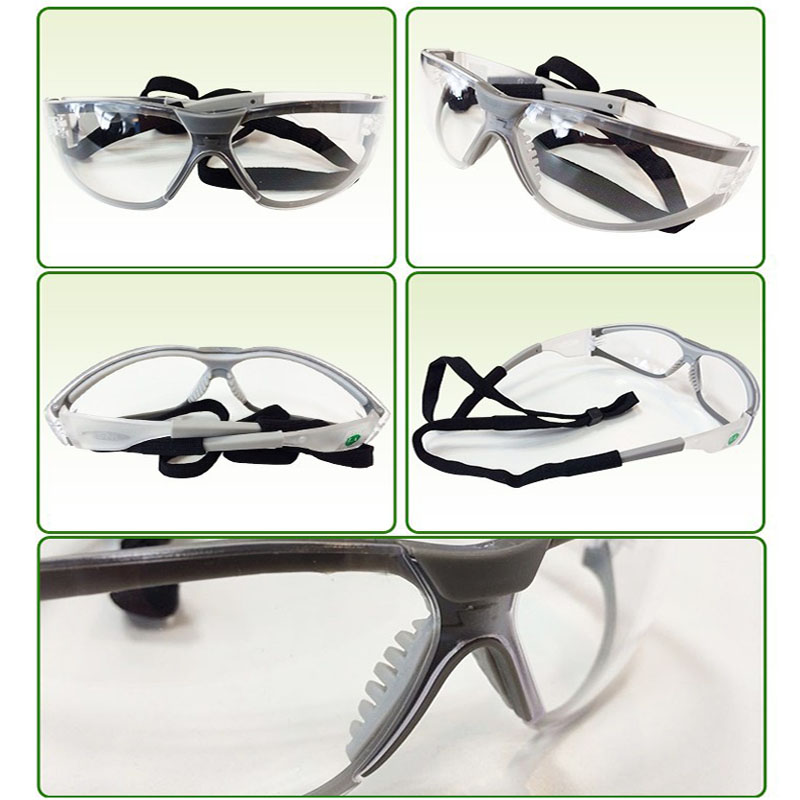 3M 11394 Safety Glasses Goggles Anti-Fog Antisand windproof Anti Dust Resistant Transparent Glasses protective working eyewear 5