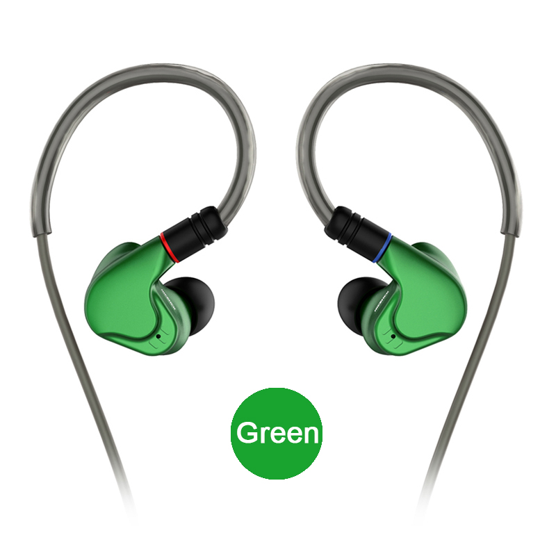 NICEHCK M6 In Ear Earphone 4BA 2DD Hybrid 6 Unit HIFI Metal Earphone Earbud Headset Monitor