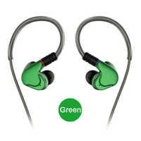 NICEHCK M6 In Ear auriculares 4BA + 2DD Hybrid 6 unidades auricular de metal HiFi auriculares Monitor auriculares con Cable desmontable MMCX