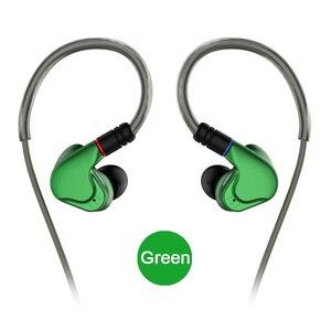 Image 1 - NICEHCK M6 dans loreille écouteur 4BA + 2DD hybride 6 unité HIFI métal écouteur écouteurs casque moniteur écouteurs avec MMCX câble détachable