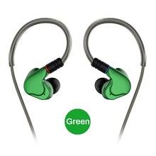 Nicehck m6 no ouvido fone de ouvido 4ba + 2dd híbrido 6 unidade de alta fidelidade metal fone de ouvido fone fone de ouvido monitor fones com mmcx cabo destacável