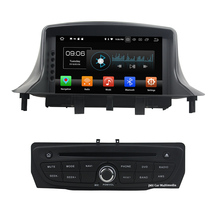 "Android 8.0.0 4GB RAM 32GB ROM Octa Core 7"" One Din Car Radio Audio Stereo AUX FM GPS For Renault Megane III Fluence 2009-2016"
