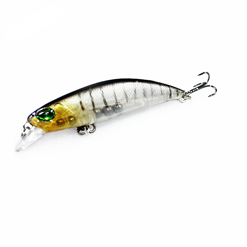 1PCS Floating Minnow Fishing Lure Laser Hard Artificial Bait 3D Eyes 6.5cm 4g Fishing Wobblers Crankbait Minnows 8pcs set 10cm 8 5g floating minnow fishing lure laser hard artificial bait 3d eyes fishing wobblers crankbait minnows pesca