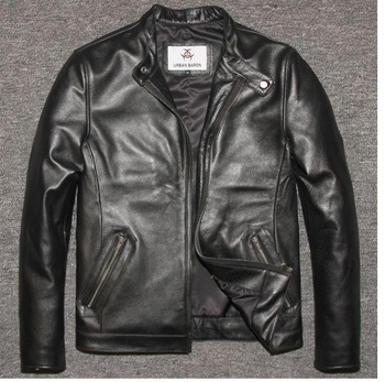 Free shipping dhl brand style mens jackets soft genuine leather suede slim jacket fitness winter motorbike.jpg 350x350