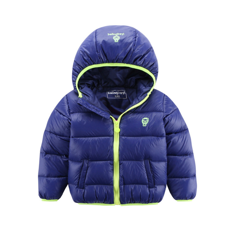 2017 New children winter down padded coat Kids hooded slim warm coat child short design thick jacket baby kid down cotton jacket baby boys girls cotton padded clothes thick outerwear 2017 new winter kids hooded down parkas plaid casual jacket coat child top