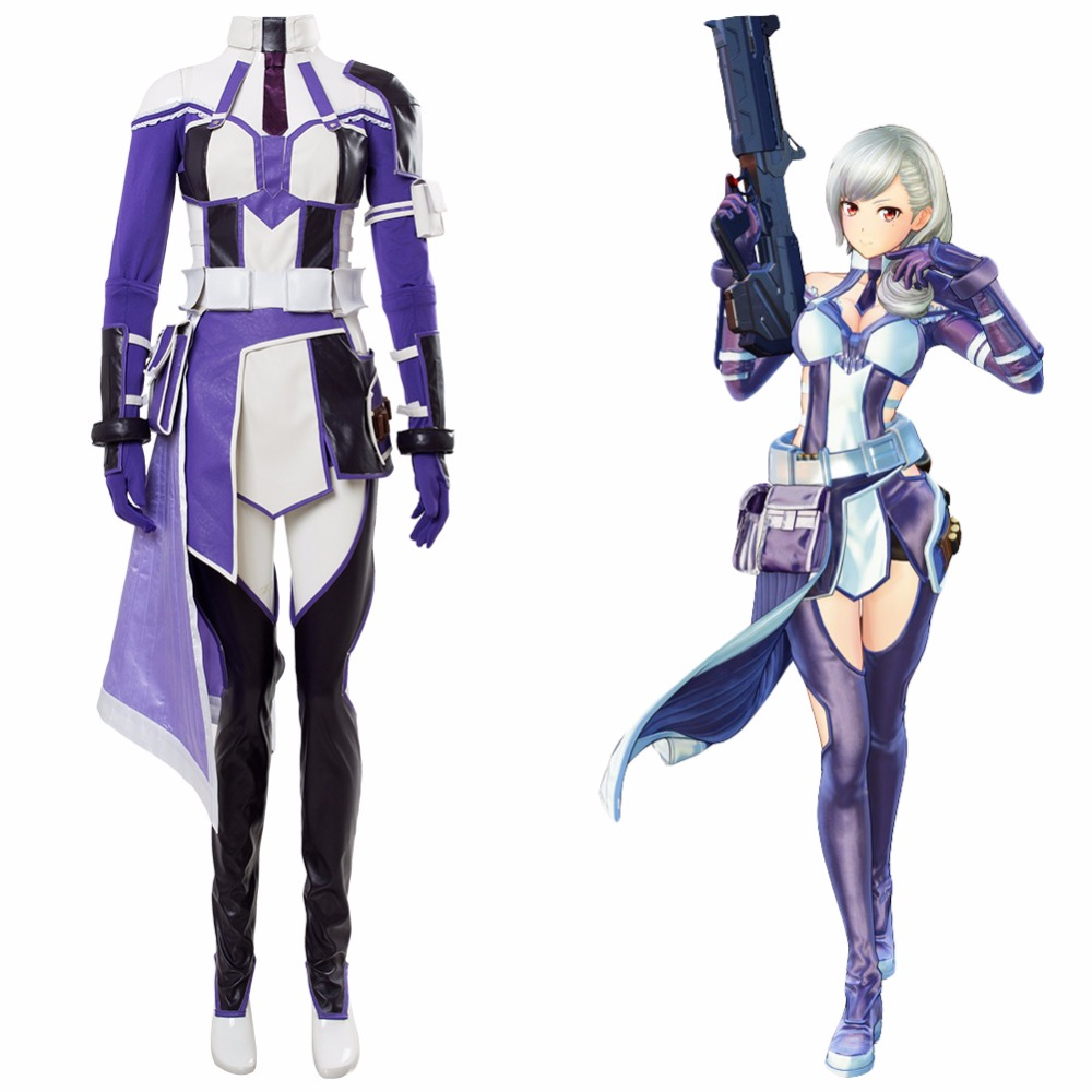 Sword Art Online: Fatal Bullet Zeliskam Cosplay Costume Halloween Carnival Cosplay SAO Costume Girls Women Uniform Custom Made