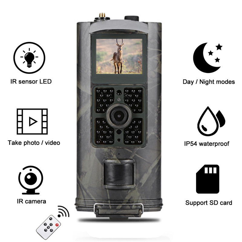 HC-700G 940nm Trail Hunting Camera 16MP HC700G 3G GPRS MMS SMTP SMS 1080P Night Vision Photo-traps Waterproof Digital Camera hunting camera 3g hc700g newest suntek hd 16mp trail camera 3g gprs mms smtp sms 1080p night vision 940nm photo traps camera