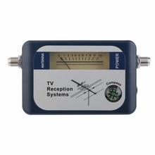 DVB T Digital Satfinder Satellite TV Receiver Digital Aerial Terrestrial TV Antenna Signal With Compass