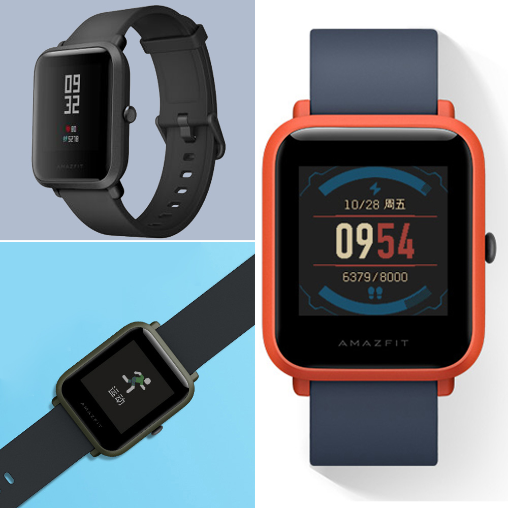 US $79 99  Original AMAZFIT Bip Youth Edition Smart Watch GPS GLONASS  Bluetooth 4 0 Heart Rate Monitor Waterproof Android IOS ES RU Stock-in  Smart