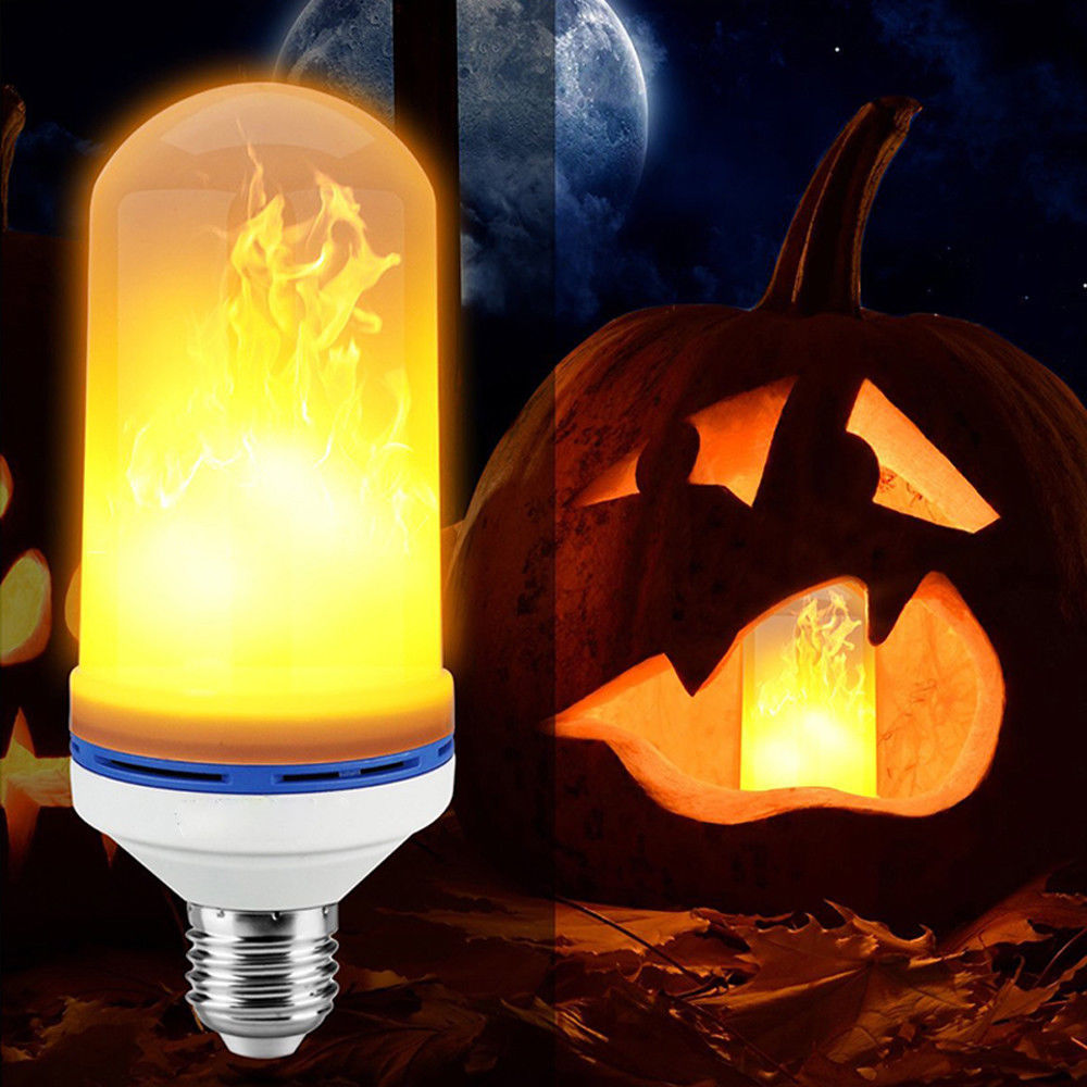 E26 E27 LED Flamme Wirkung Feuer Glühbirne 15 W 18 W SMD2835 Flackern Dekorative Flamme Lampe 1400 K AC85V ~ 265 V