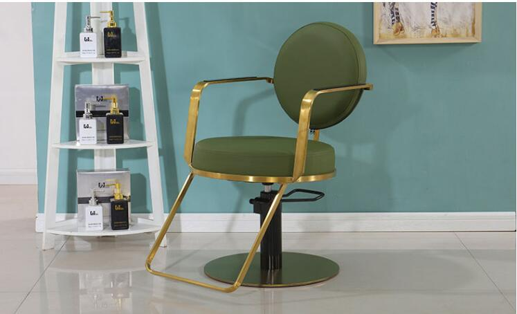 Купить с кэшбэком Hair salon dedicated high-end lifting haircut chair barber shop chair hair salon chair