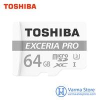 Toshiba Exceria Pro Tf Card M401 Micro SD Memory Card UHS I 64GB U3 Class10 4K