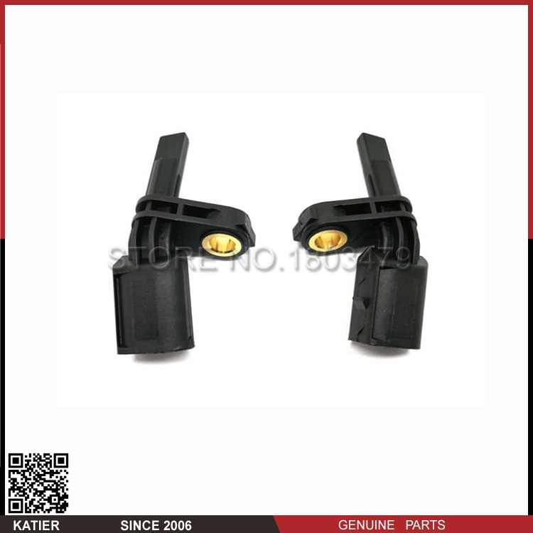 1 pair Front Right and left ABS Wheel Speed Sensor 7H0927803 7H0927804 1K0927808 For VW Audi A3 S3 Q3 TT RS3 Skoda