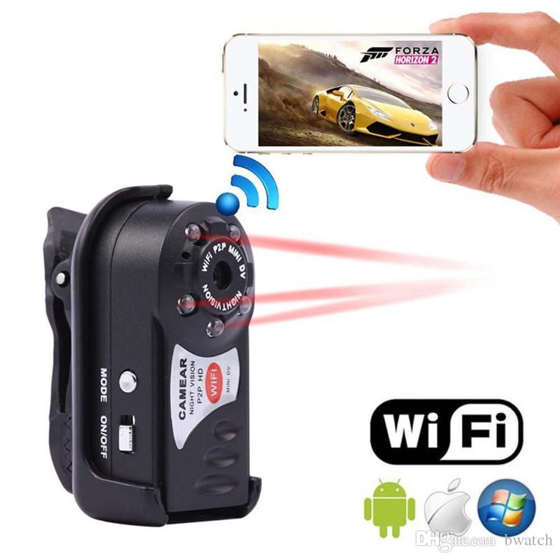 Mini Video WiFi Spycam Mini Q7 Camera 720P DV DVR Wireless Nanny IP Cam Espia Camcorder