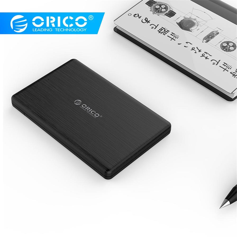 ORICO 2.5 polegada USB3.0 Hard Drive Enclosure Micro B External Hard Disk Drive Case para 7 MM de Alta-Velocidade caso para Disco Rígido