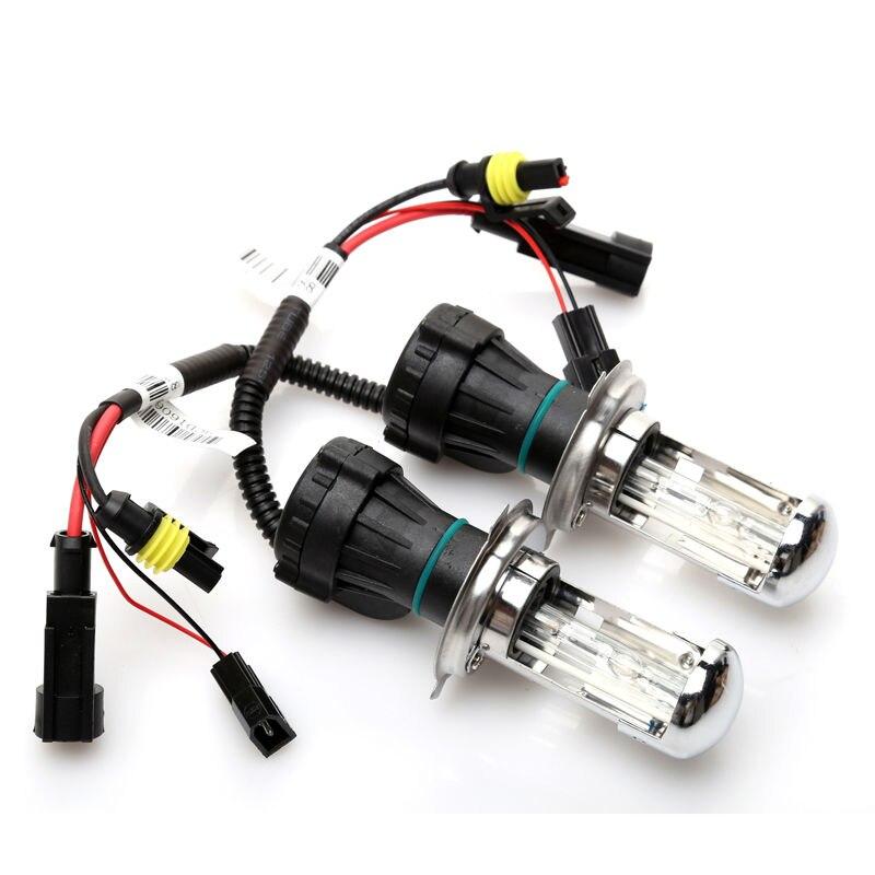 12 V 55 W H4 Bi kit de lampe xénon H4 hid hi lo BI-XENON ampoule 55 W 6000 K 8000 K 4300 K H4 Bi kit xénon - 2