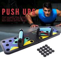 1pc Push Up Rack Board 9 In 1 Body Building Fitness Exercise Tools Men Women Push up Stands For GYM Body Training Drop Shipping