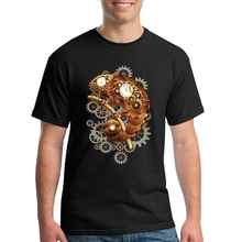 Mens Short Sleeve Clothing Mens T Shirts Chameleon Steampunk Hot Selling Teenage Printing On T Shirts O Neck Sweatshirts