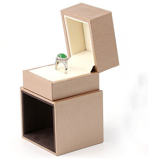 High Quality Box For Jewelry Free Shipping Wholesale 2pcslot Gold