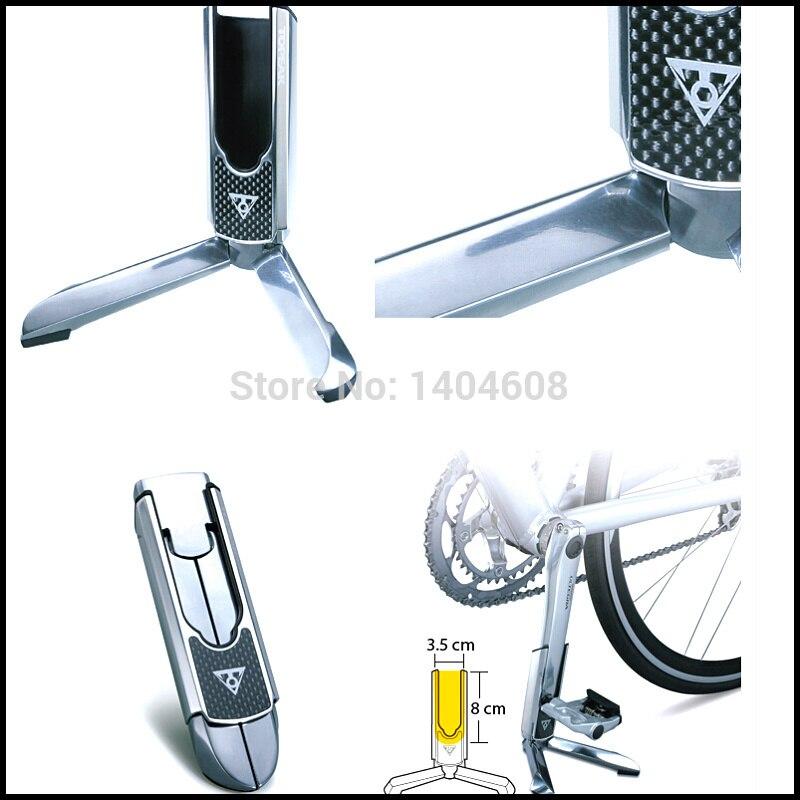 Silver Topeak Aluminum Alloy Road Bike Bicycle Cycling FlashStand Slim
