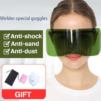 Welder special goggles windproof protective glasses welding wear anti-splash anti-glare argon arc welding goggles - DISCOUNT ITEM  50% OFF All Category