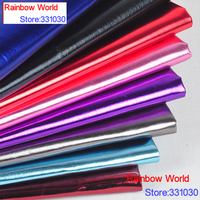 100 138cm 16colors High Quality Shiny Vinilic PU Leather Fabric For DIY Car Ecotate Shoes Bags