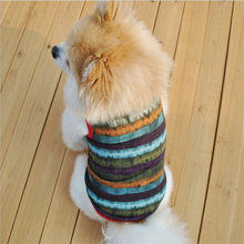 Warm Dog Clothes For Small Dogs Soft Pet Clothing Chihuahua Cartoon Outfit