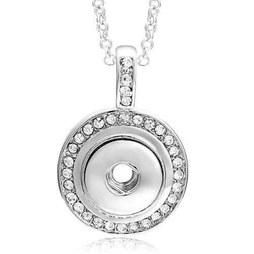 12MM Snap Necklace Crystal...