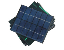 5 pcs/lot Solar Panel Charger 6V 2W Cell Polycrystalline with cable 30cm 5V USB &diode DIY Mini