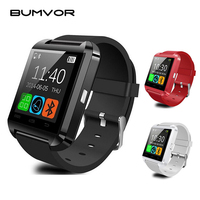 U8 Sport Young Smart Watch Clock Sync Notifier Support Bluetooth Connectivity For Android Phone Smartwatch PK
