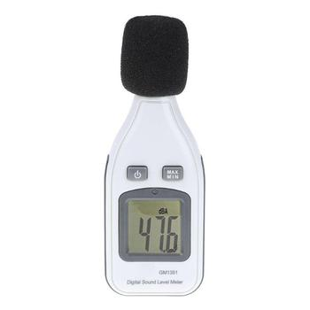 Miernik poziomu dźwięku z USB cyfrowy hałasu Tester ekran LCD Audio Vioce w jaki sposób miernik decybeli monitora ciśnienia Teste (bez baterii) tanie i dobre opinie alloet Noise Monitor Pressure Tester 30 ~ 130dB