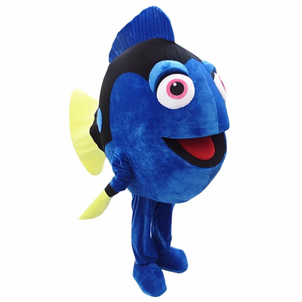 CosplayDiy mascotte de bande dessinée unisexe pour trouver le Costume de mascotte Nemo Dory L0713