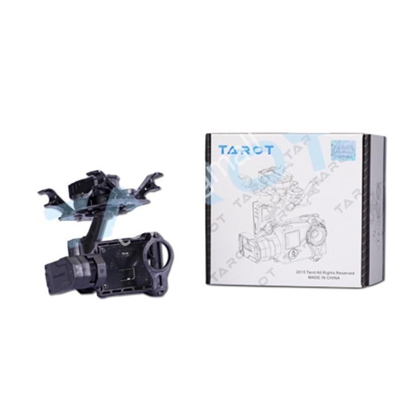 Tarot GOPRO T4-3D 3 axes sans balai cardan TL3D01 pour GOPRO 4/Gopro 3 +/Gopro3 pour RC Drone Support Mode FPV 50% de réduction