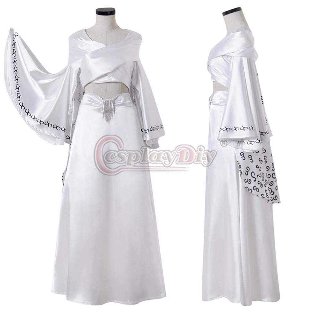 Cosplaydiy Cosplay Costume Dress Ball Gown Dance Party Dress Trumpet ...