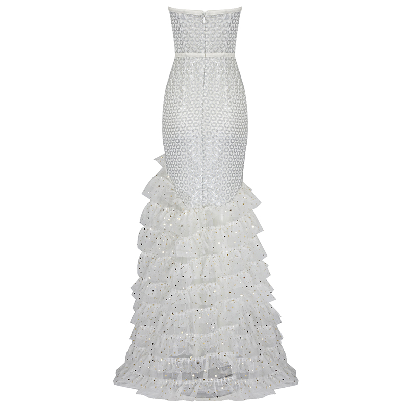 Robe Sexy Blanc Partie Femme Perles Moulante Robes Deive Hl3517 Épaule Vestidoes Off Teger Broderie Bandage 2018 Bretelles xqxwzYav