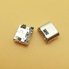 50pcs 7 PIN 7pin mini micro usb charge charging jack connector plug dock socket for Samsung i9082 i9080 i879 i8552 i869