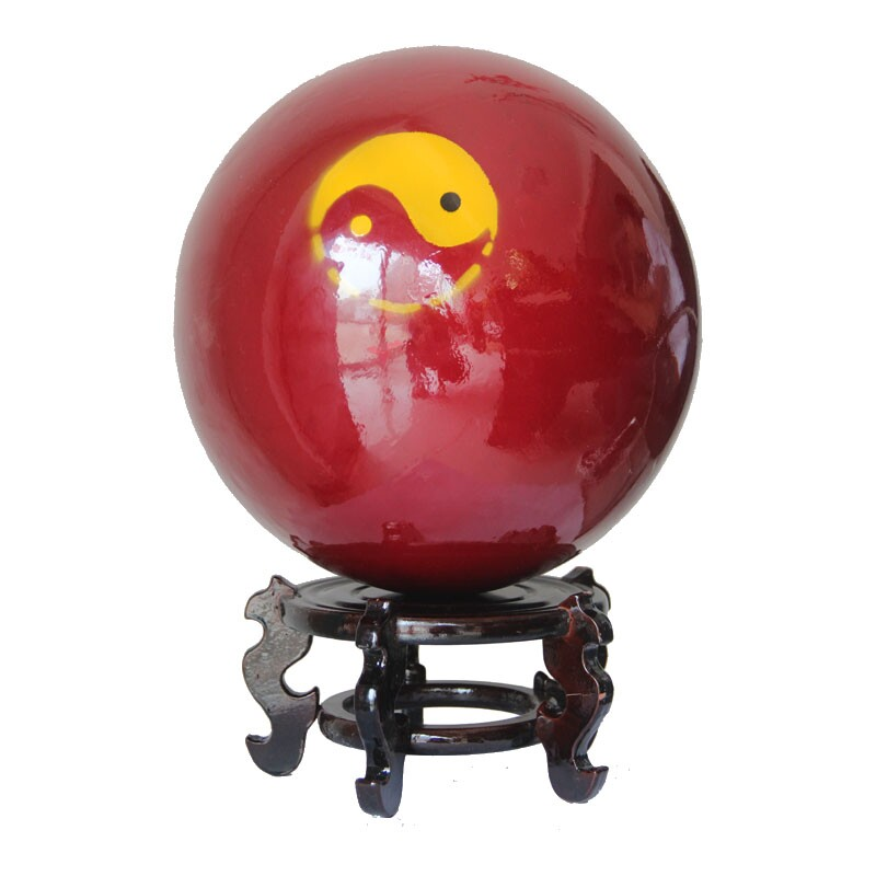 Tai Chi Ball - SMALL / Beginner Wood Tai Chi Ball not base the weigh2.5KG TO 28KG free fastly shipping...  yoga ball with base   Yoga Ball Balance Trainer Yoga Fitness Strength Exercise Workout w/Pump Blue Tai Chi font b Ball b font SMALL Beginner Wood Tai Chi font b Ball b