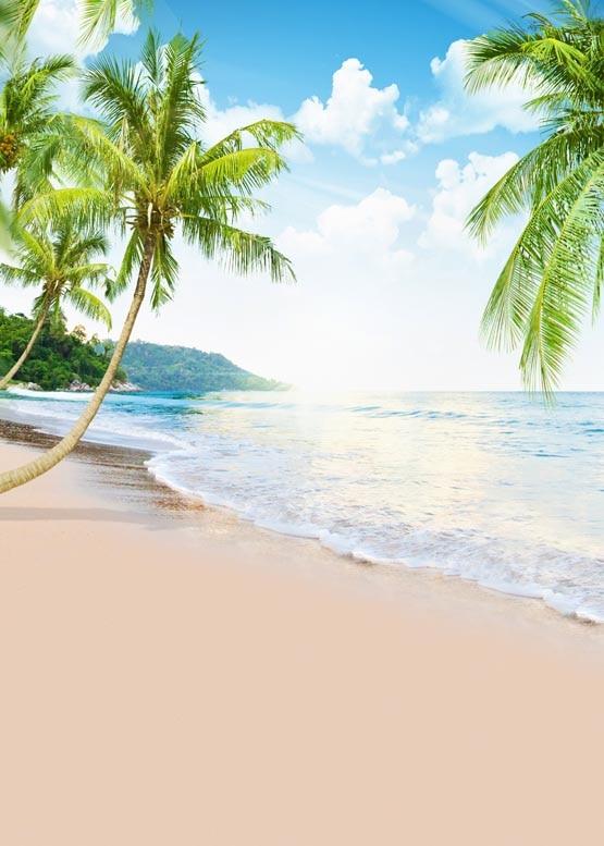 Beaches Beach Backgrounds Ocean Backdrop G 501 In 2020: Fotografia Holiday Photo Backdrop Leisure On Sea Beach