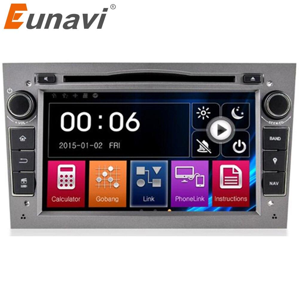 Eunavi 2 din Auto DVD Player in dash steuergerät autoradio stereo für Vauxhall Opel Astra H G J Vectra Antara zafira Corsa mit GPS