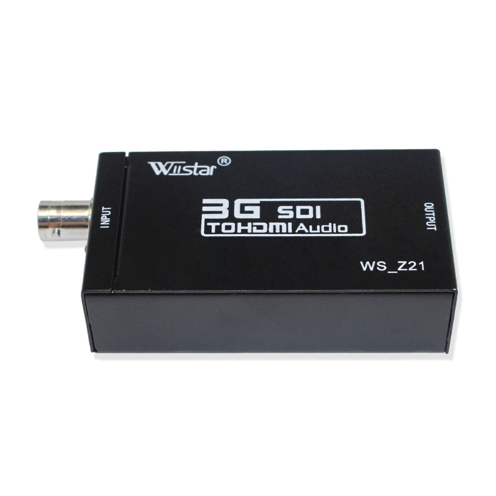 10 stücke SDI zu HDMI Konverter Unterstützung HD-SDI/3G-SDI Signale Zeigt sdi2hdmi sdi zu hdmi freies verschiffen