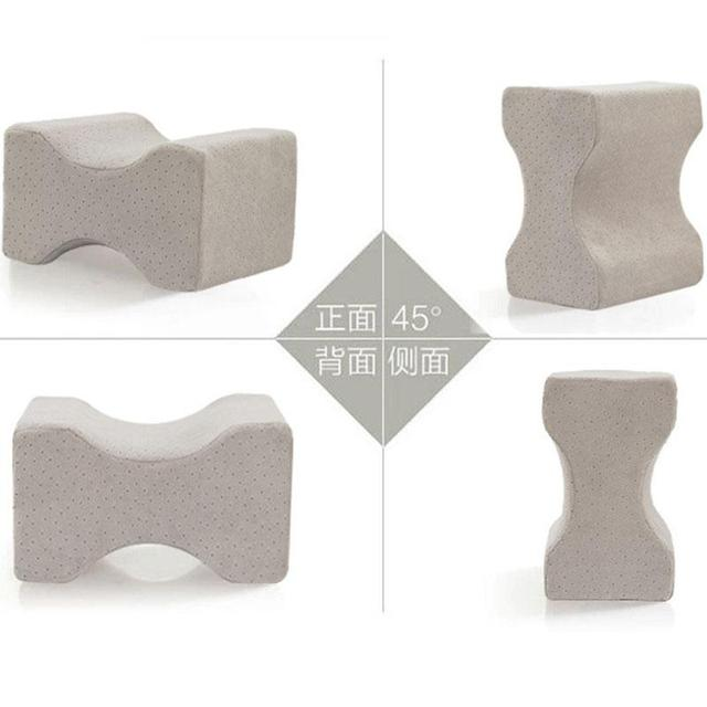 Foot Massage  Knee Pillow Clip Leg Positioner Memory Foam Wedge Slow Rebound Memory Cotton Clamp Massage 5