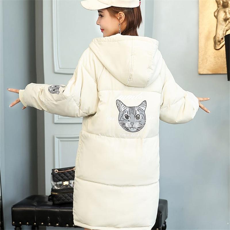 2018 nouvelle veste d'hiver femmes Parka plus épais manteau d'hiver du Couple coréen édition mode grande taille femmes vestes