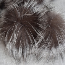 2017 Hot Sale Women Adult Casual Beanie Big Genuine Real Fox Pompom Pom Poms Hair Accessories Pompon Ball For Shoes Hats Bags