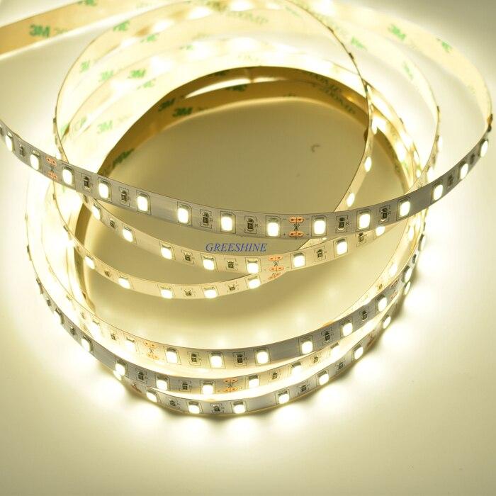 72leds 20W 24V SMD 5730 LED Strip Light 5M led cabinet light 50-55LM/led CRI>80,Kitchen Light flexible Ribbon 30M Free Shipping