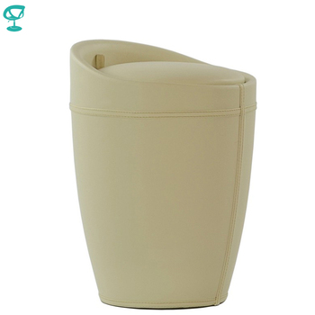 95279 Barneo N-9 Eco-leatherKitchen Breakfast Interior Stool Bar Chair Kitchen Furniture Beige free shipping in Russia